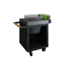 OFYR Kamado Table Black 65 PRO Konkret BGE