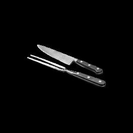 Messer und Gabelset