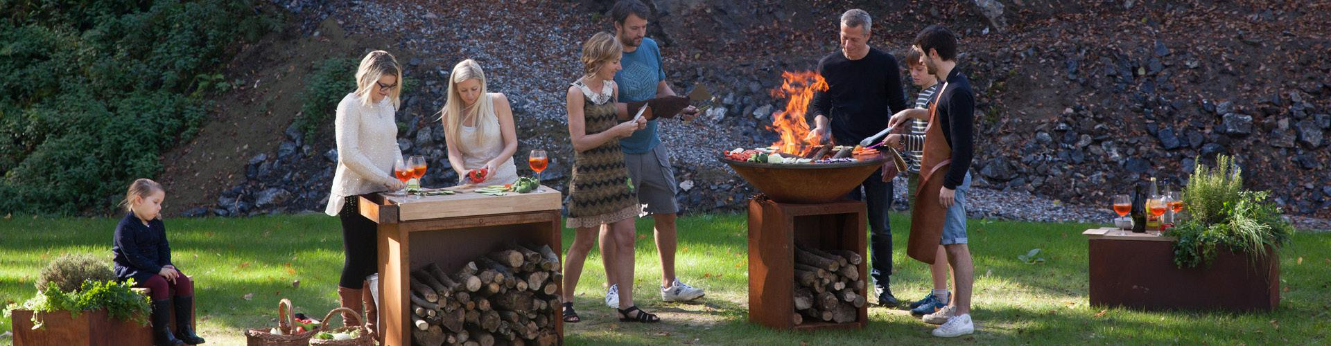 3 Gesundheitliche Vorteile Des Kochens Im Freien