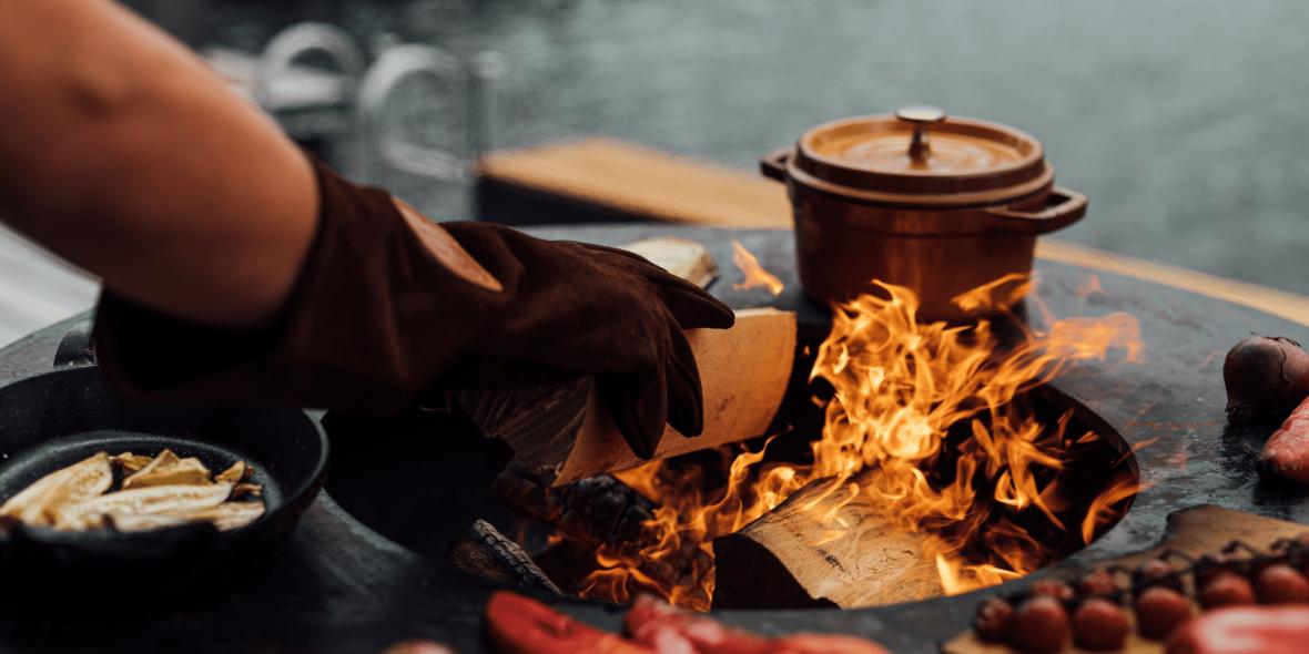 Kochen im Freien ist mehr als grillen