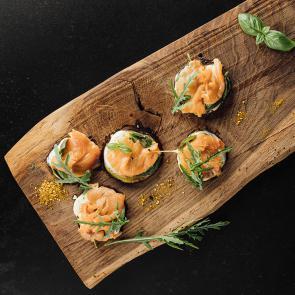 Auberginenkuchen mit Mozzarella